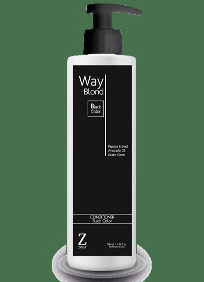 Way BLOND Black Color CONDITIONER