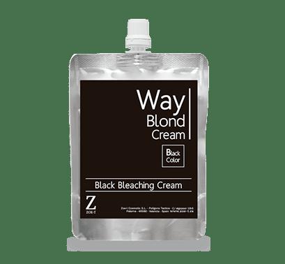 Way BLOND CREAM Black Color